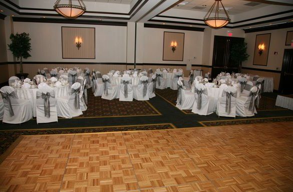 Certain wedding packages include chair covers or upgraded chairs!