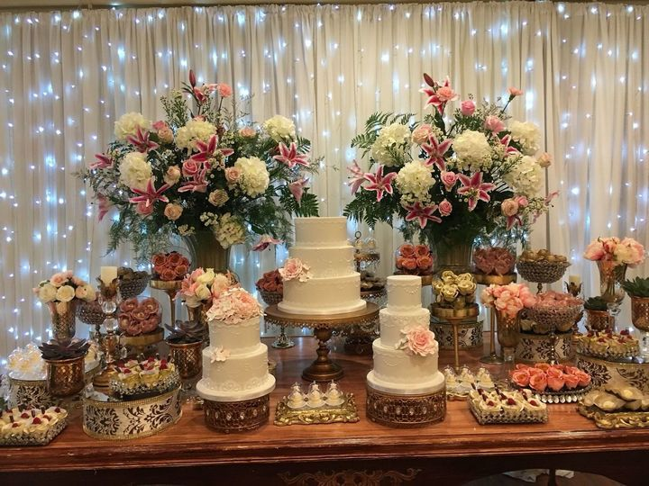 Tantalizing dessert display