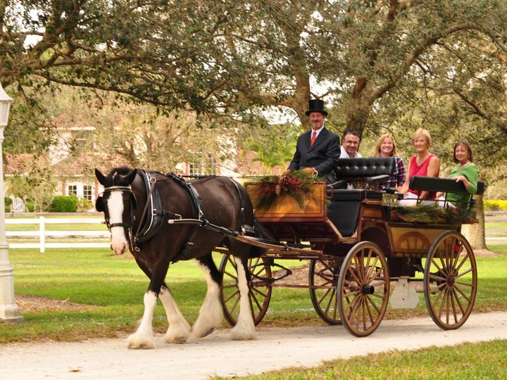 Tmx 1420639295914 Horse Power Xmas Card 20140043 Palm City wedding transportation