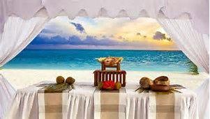 Altar at the beach