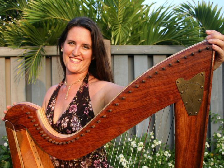Tmx 1386106949486 Anela With Harp 1 Cro Lyons, CO wedding ceremonymusic