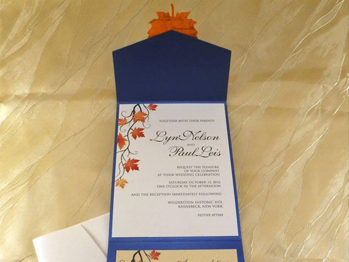 Tmx 1498743006424 Blueweddinginsideblog Hawthorne, NY wedding invitation