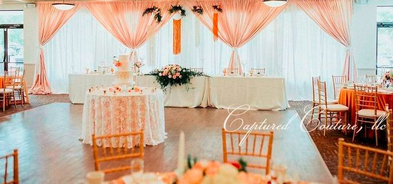 Dainty reception design