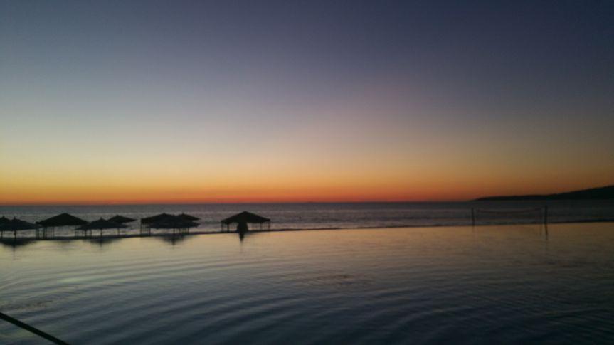 Sunset in Pureto Vallarta
