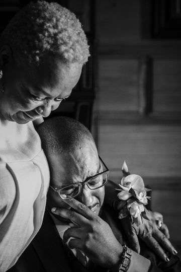 Special Moment Groom & Mother