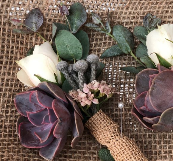 Lily Palmer Boutonniere Series