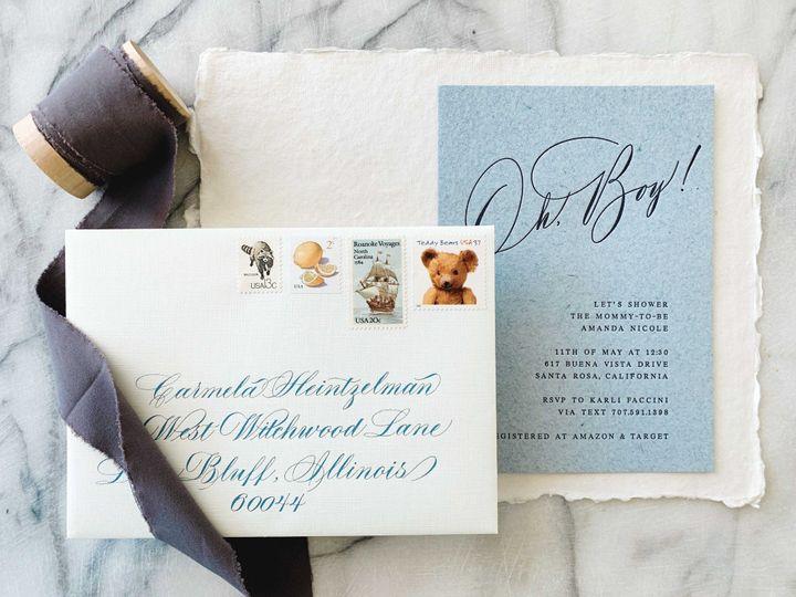 Calligraphy invitaion
