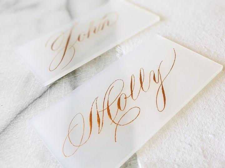 Tmx Napa Wedding Calligraphy Kestrel Montes 3 Of 3 51 1018657 1567105188 Santa Rosa, CA wedding invitation