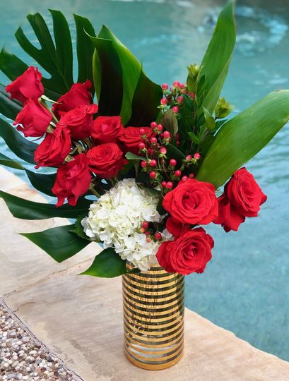 Modern Red Roses