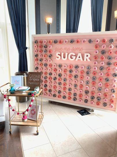 The sugar wall
