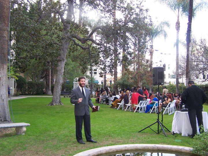 Joshua at a wedding