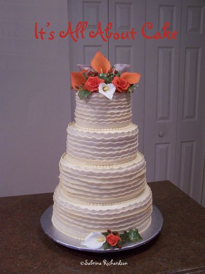 wedding cakes charleston wv it s all about cake wedding cake beckley wv weddingwire 24040