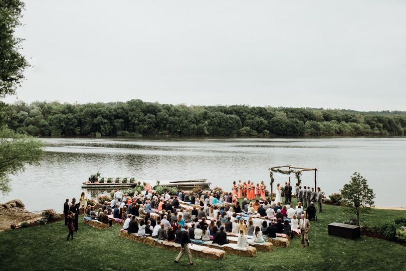 Ceremony by the river
