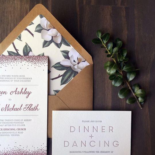 darling pearl invitations princeton nj weddingwire