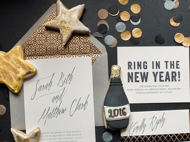 Tmx 1453775651039 Darling Pearl Letterpress Wedding Invitation Nye B Princeton wedding invitation