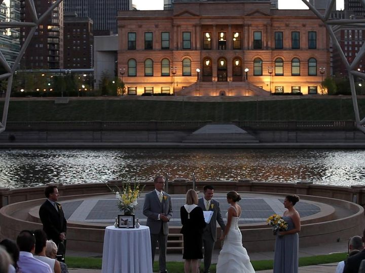 Tmx 1348942837510 SimonEstesHeatherandTylor Urbandale, Iowa wedding officiant