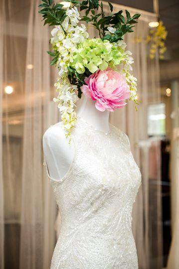 =A white dress