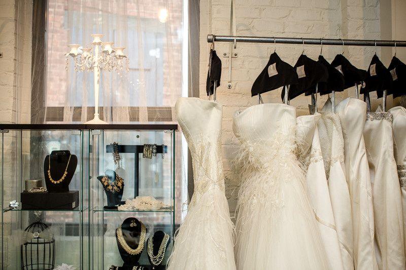Wedding dress selection