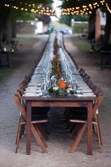 Long table area