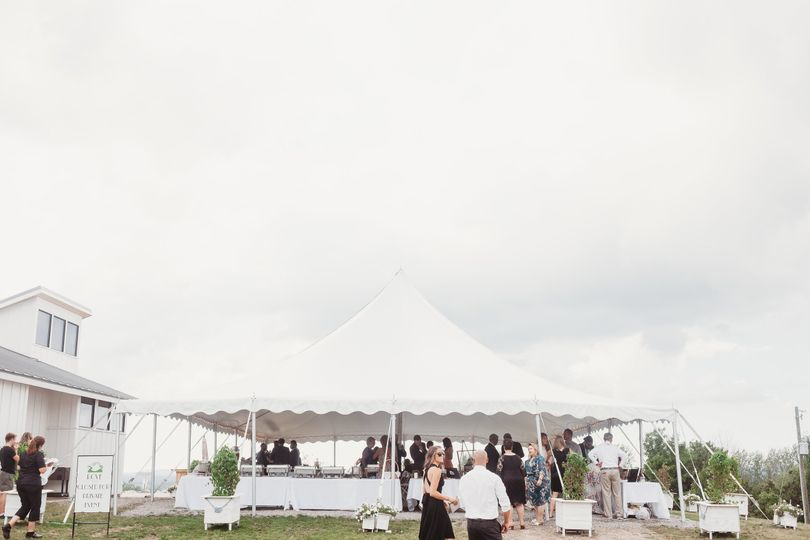 Gorgeous event tent