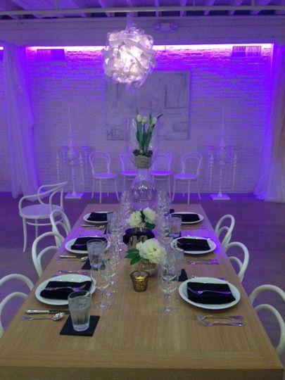 cooks purple lighting