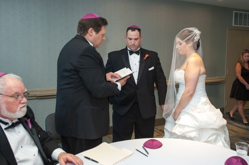 Pre-ceremony bridal blessing