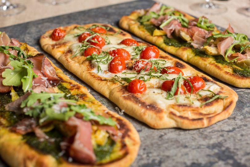 Flat Bread Pizzas