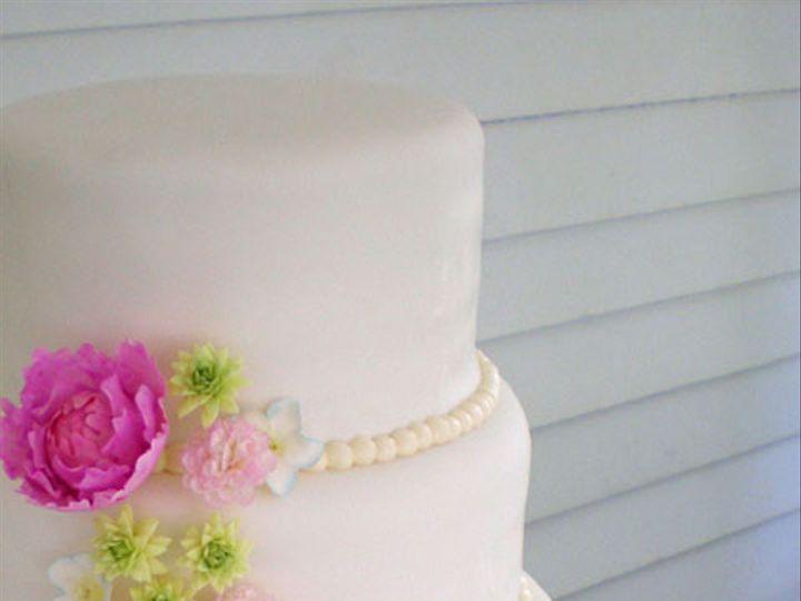 Tmx 1451945237992 Peony Wedding Cake 2 Houston wedding cake