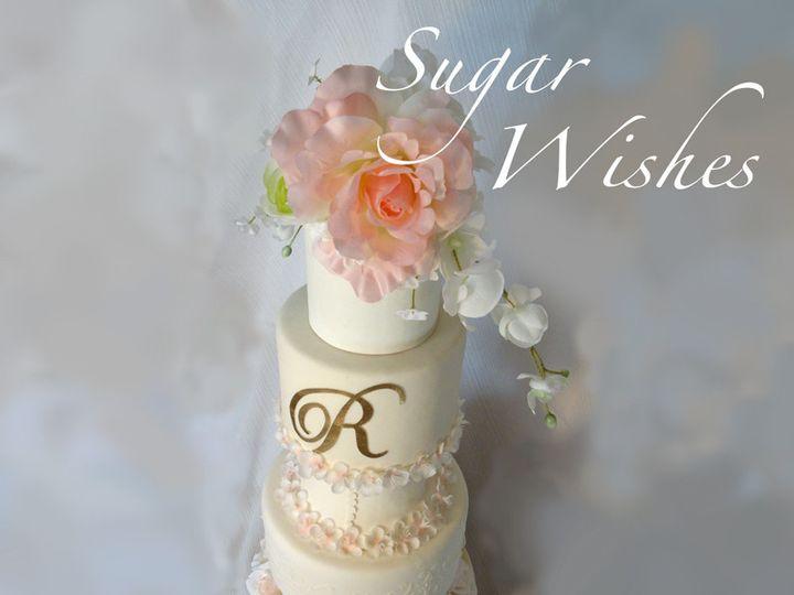 Tmx 1505685228671 Monogram Cake 2.2 Houston wedding cake