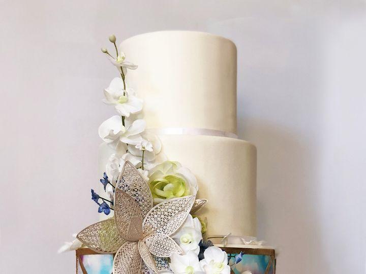 Tmx 1511144409995 Watercolor Cake 7.1 Houston wedding cake