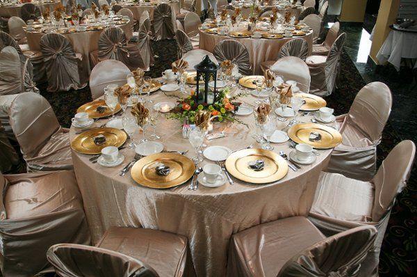 The Grand Ballroom, Wedding Reception.