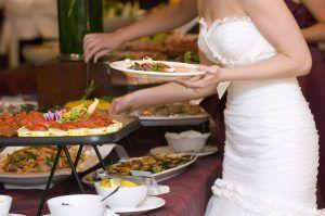 The brides turn