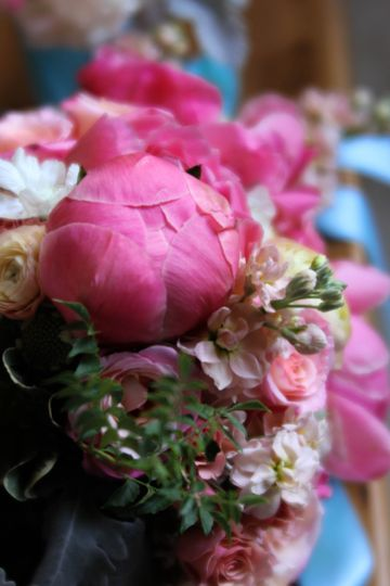 bouquet parade