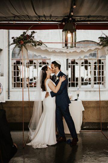 Ceremony Kisses