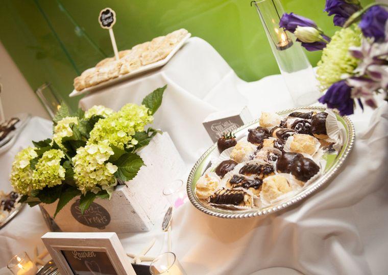 laurens sweet table