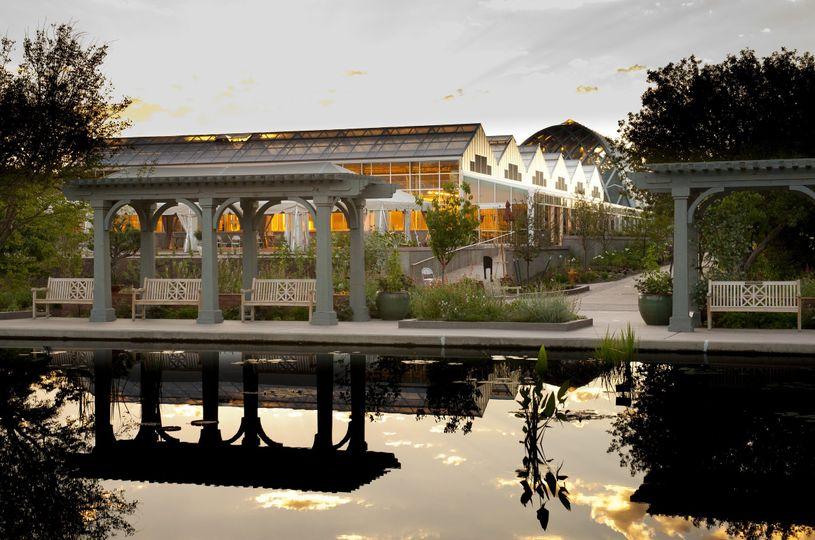 Monet Pool at Denver Botanic Gardens.