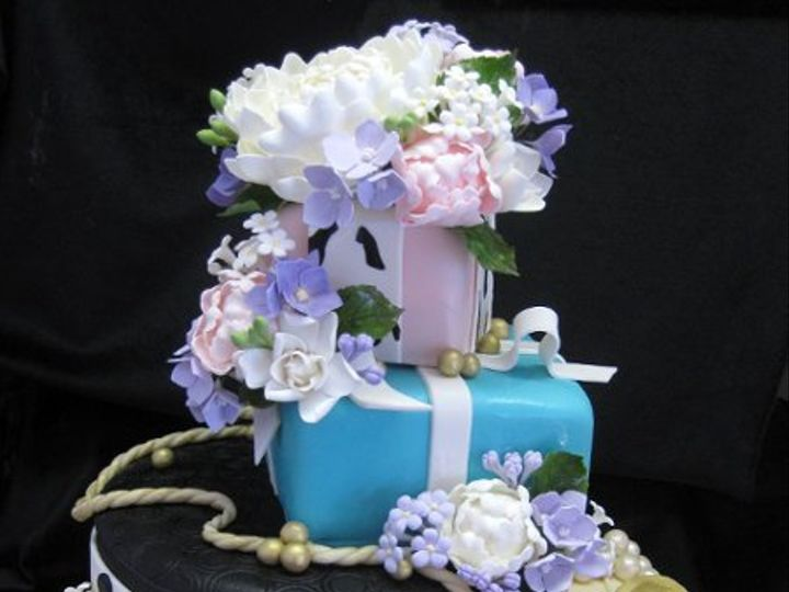 Tmx 1294084448057 Stackedgifts San Marcos, CA wedding cake