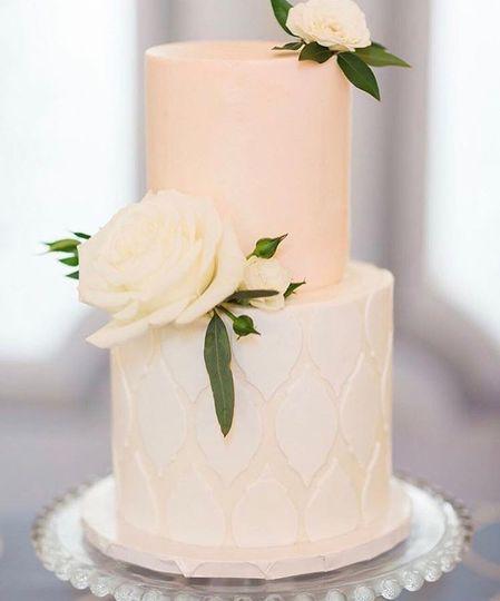 Classic Couple's Cake