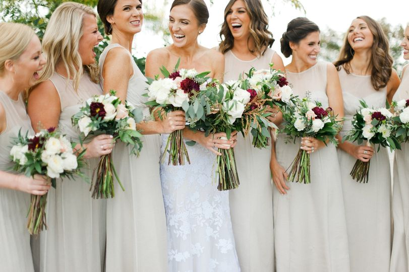 Bridal party | Melissa Oholendt Photography