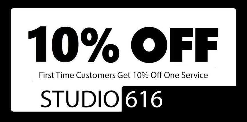 Take an extra 10% off when you book Studio 616 Entertainment for your upcoming event.