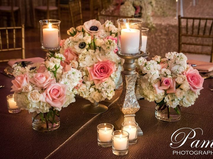 Tmx 1437983049022 Coronado Ballroom   Close Up Of Low Centerpiece Ca Saint Louis, MO wedding florist