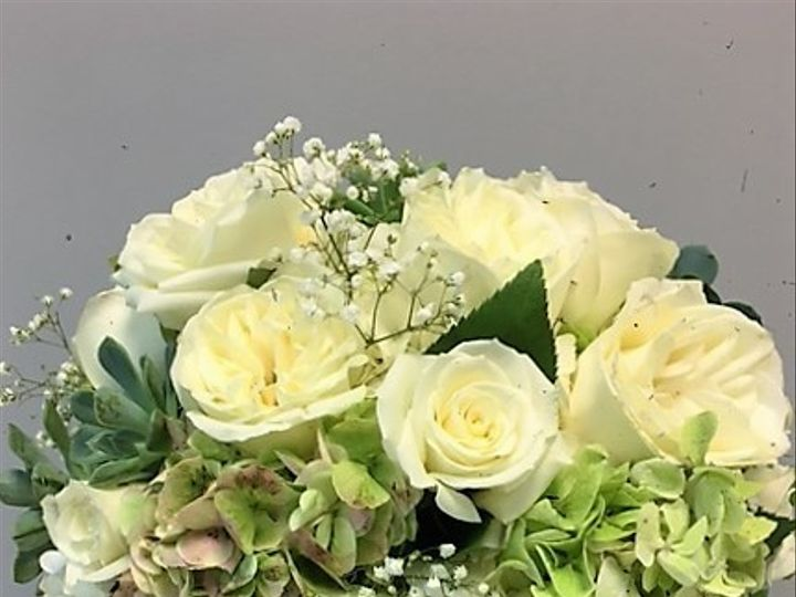 Tmx 1482944943992 Nicole  Matthew   Bridal Buquet   Hydrangea Succcu Saint Louis, MO wedding florist