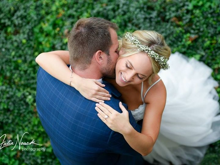 Tmx 1482944963946 Sam And Ken   Photo From The Balcony   Bridal Halo Saint Louis, MO wedding florist