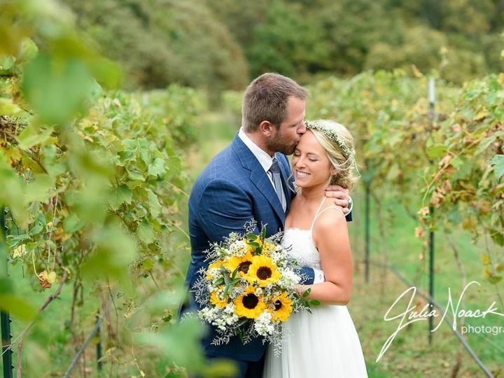 Tmx 1482945019071 Sam  Ken At The Vineyards At St. Albans Inn   Phot Saint Louis, MO wedding florist