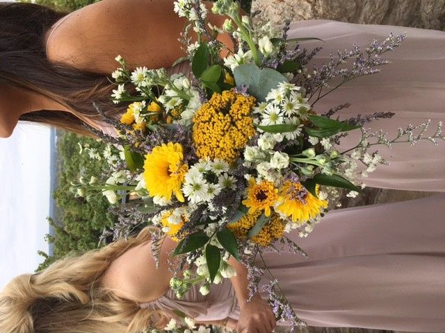 Tmx 1482945047759 Sams Bridemsaid Bouquets At St. Albans By Stems Fl Saint Louis, MO wedding florist