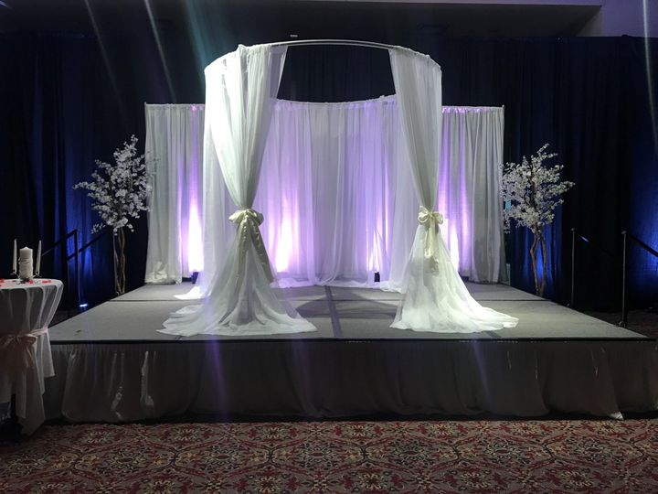 Tmx Canope Backdrop 51 122857 158031612723470 Collinsville, IL wedding venue