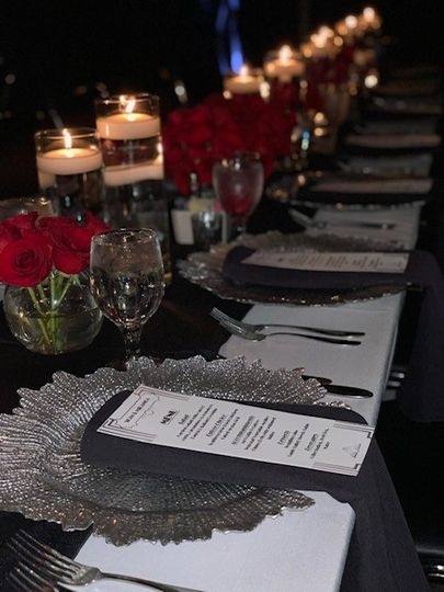 Table Setting Example 2