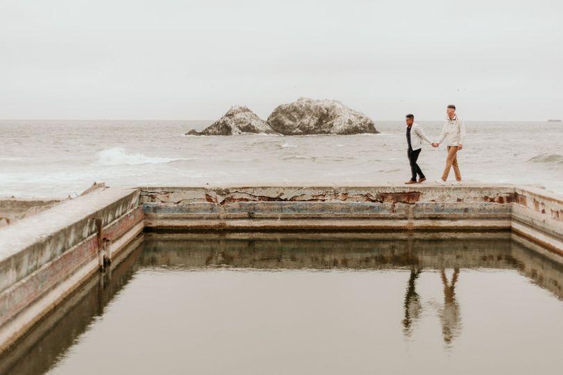 Sutro Baths couples session
