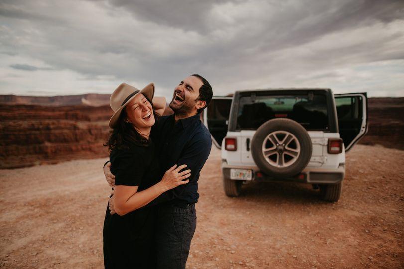 Utah adventure elopement
