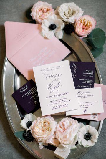 Letterpress & Foil Invitations